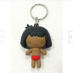 DISNEY 3-D Figural Keychain Mowgli 3620E3M